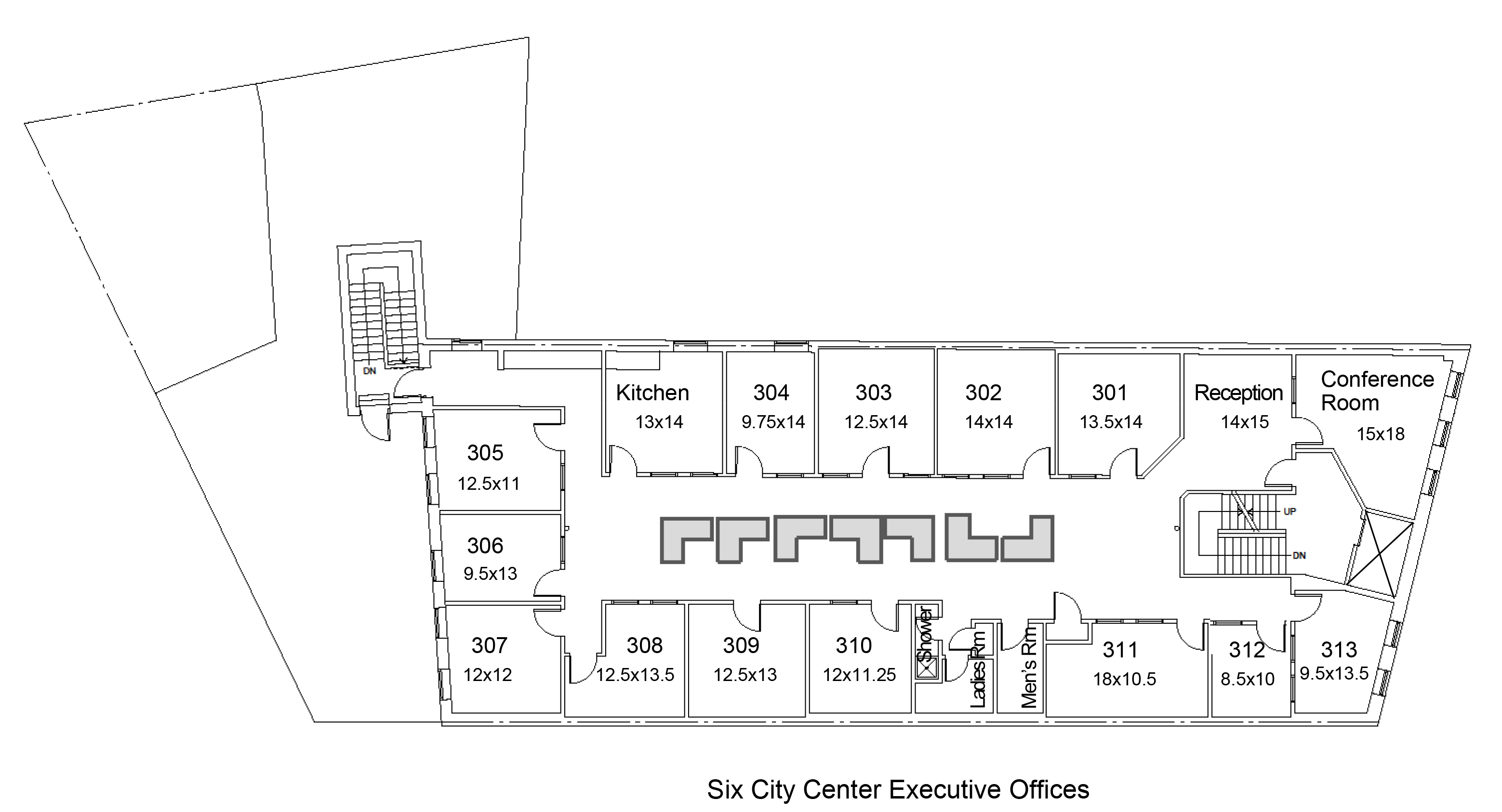 six city center executive office