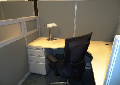 Cubicle Area at Six City Center